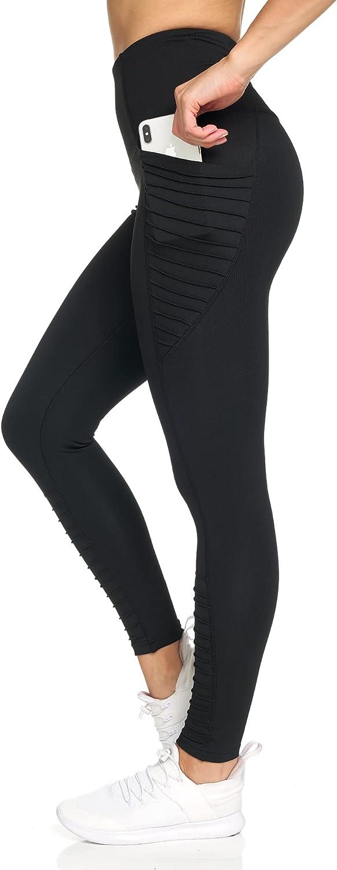 Nicole Miller 7 8 Workout Leggings for Women Topics on TV Mesh with Sheer Mot Max 44% OFF