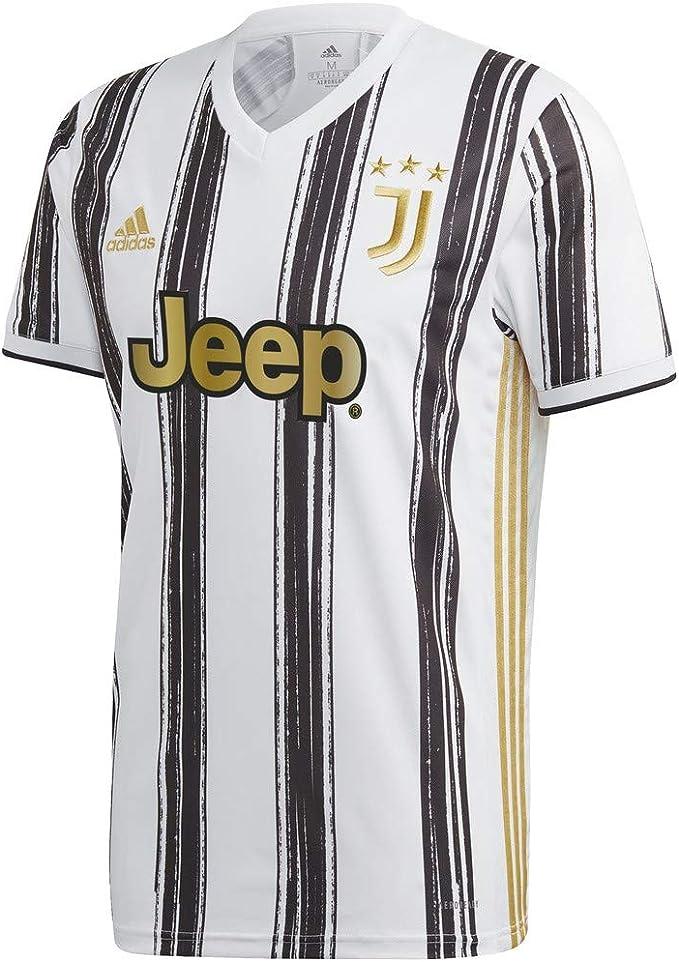 Juventus Maglia Gara Home Stagione 2020/2021 - Partite in Casa - Uomo - 100% Prodotto Ufficiale - 100% Originale - Scegli la Taglia