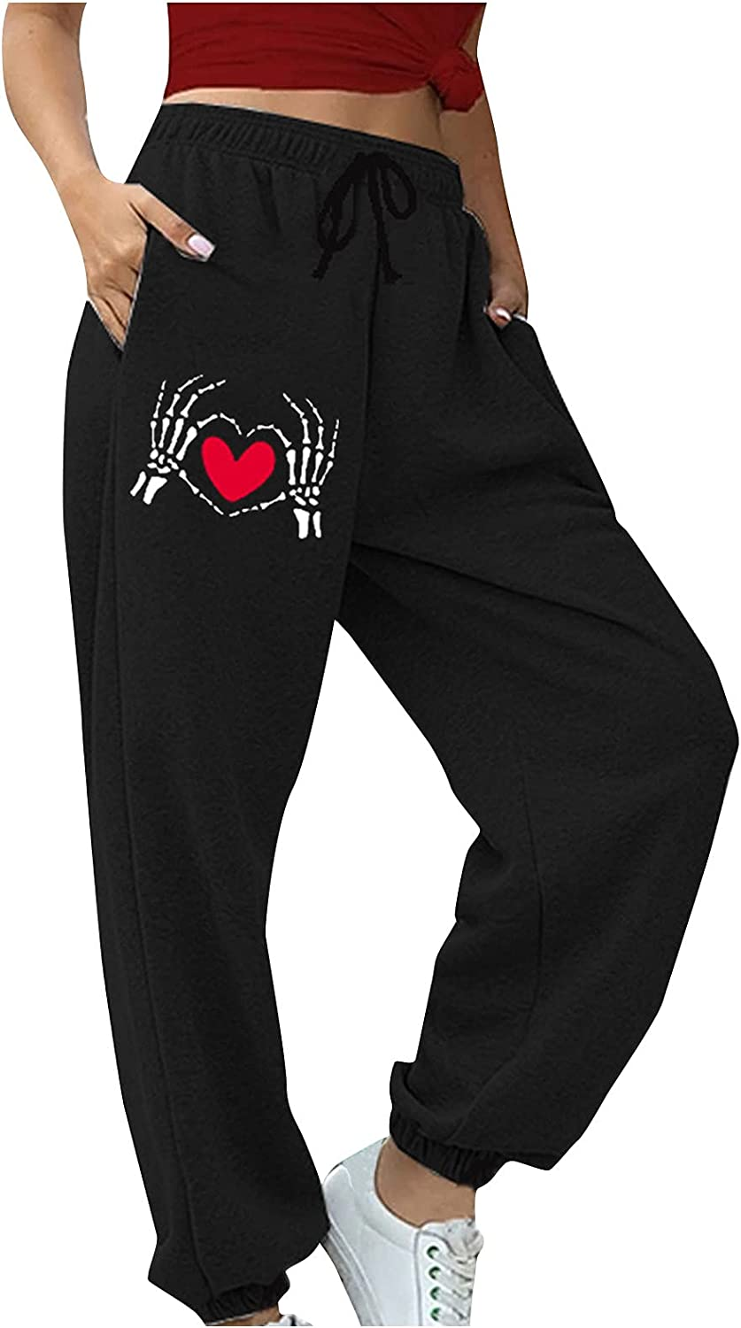 GINELO Women's Jogger Sweatpants High Free shipping Fit Loose New arrival Athletic Waisted