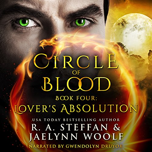 Lover's Absolution     Circle of Blood, Book Four              By:                                                                                                                                 R. A. Steffan,                                                                                        Jaelynn Woolf                               Narrated by:                                                                                                                                 Gwendolyn Druyor                      Length: 7 hrs and 39 mins     11 ratings     Overall 4.5