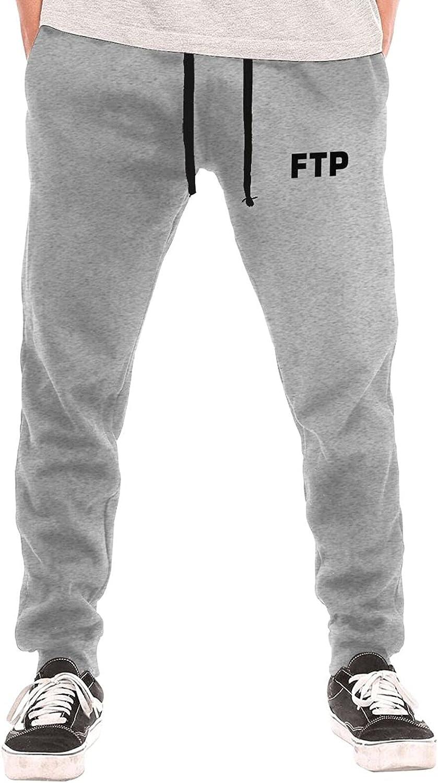 Bpauuiq Casual Men's Sweatpants with Fleece Pockets Gorgeous shop Open Bottom