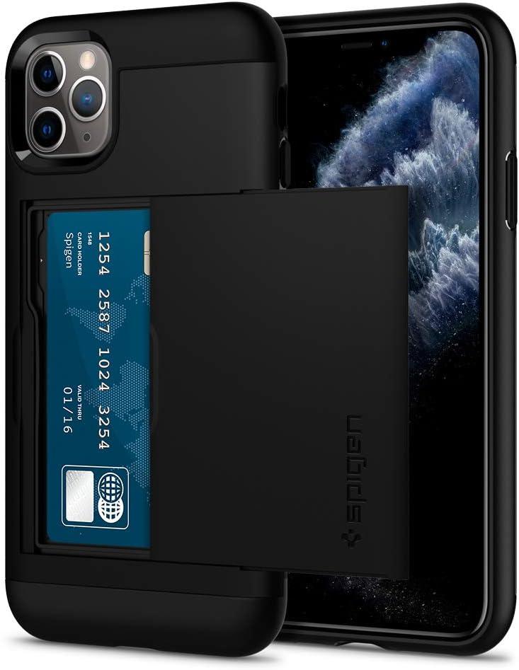 Spigen Slim Armor CS Designed for iPhone 11 Pro Max Case (2019) - Black