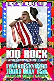 CARL LUNDGREN ART Kid Rock Poster New York City