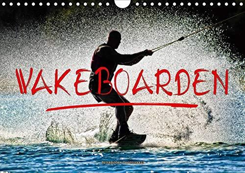Wakeboarden (Wandkalender 2020 DIN A4 quer): Wakeboarden, ultimativer Funsport mit vielen begeisterten Anhängern. (Monatskalender, 14 Seiten )