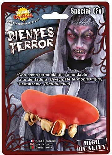 Zombies de dentiers réutilisables déguisement horreur