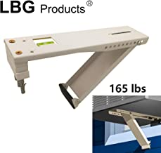 LBG Products Heavy Duty Universal Beige Window Air Conditioner,Designed 5,000 to 22,000 BTU Sized Units, AC Support Bracket (165lbs)