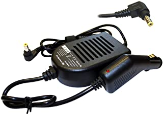 Power4Laptops Adaptador CC Cargador de Coche portátil Compatible con ASUS X50R