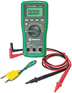 GREENLEE (R) DM-65 Full Size - General Features Digital Multimeter, Instrument Counts: 6000