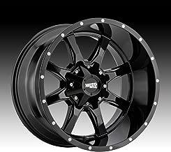 Moto Metal MO970 Gloss Black Wheel tpms (20 x 9. inches /8 x 124 mm, 0 mm Offset)