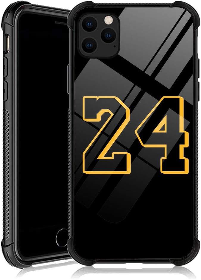 DJSOK iPhone 11 Case,Basketball Legend YKL0A032 iPhone 11 Cases for Men Women Fans,Design Pattern Back Bumper Shockproof Anti Scratch Reinforced Corners Soft TPU Case for iPhone 11