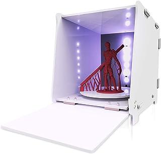 Resina UV Indurimento Box, GIANTARM scatola di polimerizzazione LED DIY per stampante 3D in resina DLP/LCD/SLA, Con Rotazi...