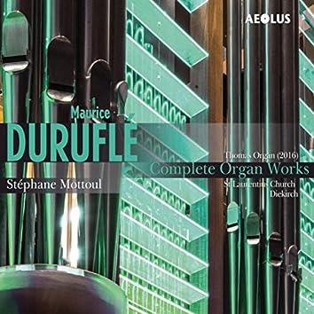 Maurice Duruflé: Complete organ works