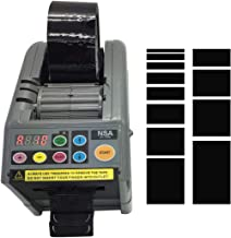 NSA ZCUT-9/ RT-7000 Automatic Sticky Tape Dispenser Loop Mode to Set Up 12 Different Tape Length and Memory Cutting in Circle/Cutting Without Trace and Nallow Tapes Good Cutting Effiency Too