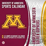 University of Minnesota Golden Gophers 2020 Calendar