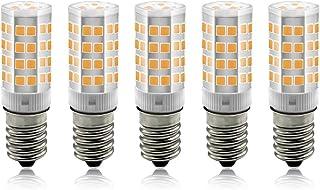 BeiLan E14 LED maíz bombilla 3W, 3000K Blanco Frío LED Bombillas, 30W Incandescente Bombillas Equivalentes, Candelabro E14 SES Bombillas, 240lm, Edison Tornillo Bombillas LED, 5-pack