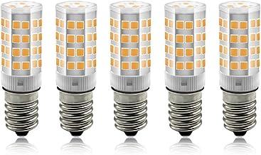 BeiLan E14 LED-lampen, 3W maïslampen, gloeilampen equivalent 30W, 3000K warmwitte kandelaar E14 SES-lampen, 240Lm, kleine ...