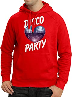 lepni.me Hoodie Funky Disco Party for Music Lovers