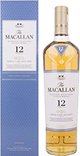 The Macallan 12 Years Old TRIPLE CASK MATURED mit Geschenkverpackung Whisky 1 x 0.7 l