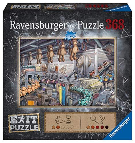 Ravensburger Puzzle 16484 - In der Spielzeugfabrik 368 Teile Exit Puzzle - Premium Qualität für EXIT- begeisterte ab 12 Jahren