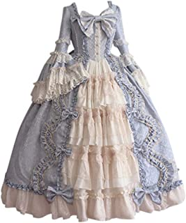 Women's Rococo Ball Gown Gothic Victorian Dress Costume Gothic Period Ball Gown Reenactment Theater Costumes