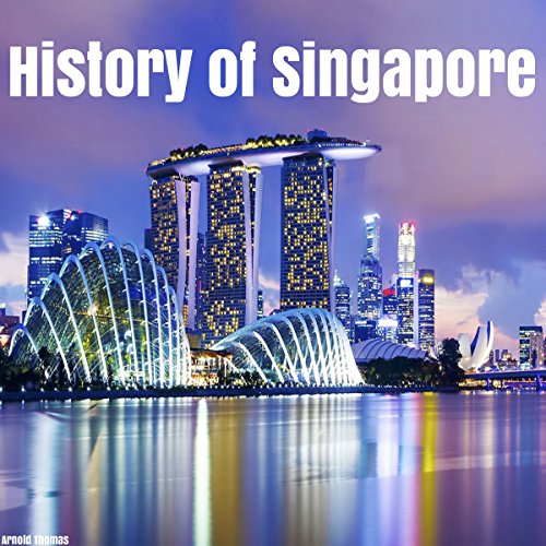 History of Singapore audiobook cover art
