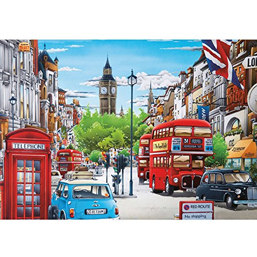 Colorful(TM) Home Decor City 5D Diamond Painting...