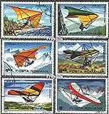 Prophila Collection Rumania 3880-3885 (Completa.edición.) 1982 ala Delta (Sellos para los coleccionistas) Aviación