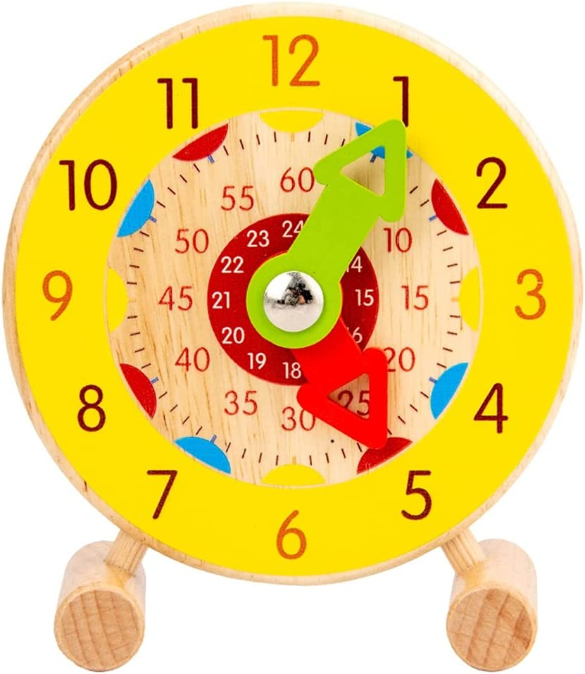 GLLP Baby Toys Educational 2021 Great interest Cognitive Clocks Ear Learning