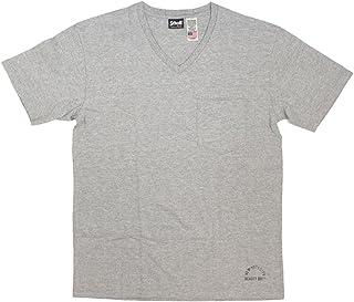(ショット) Schott 3133036 Vネック ポケット Tシャツ 日本製