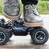 Kikioo Una y catorce minutos del coche de RC 4WD todo terreno de alta velocidad Off Road coche teled...