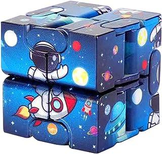 Nieskończoność kostka zabawki magiczne klocki kostka zabawka dla dzieci nastolatki Puzzle kwadraty zabawka na biurko ręczn...