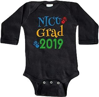 inktastic NICU Graduate 2019 Newborn Long Sleeve Creeper