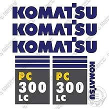 Komatsu PC 300 LC 7 Excavator Decals