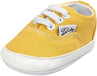BOBORA Baskets Bebe, Chaussures de Prefactrices pour Bebe Fille Garcon 0-6, 6-12, 12-18Mois