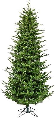 """Vickerman Hoboken Fraiser Fir Artificial Christmas-Trees, 7.5' X 50"""", Green"""