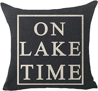 on lake time pillow