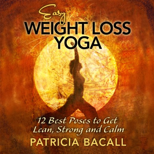 Easy Weight Loss Yoga audiobook cover art