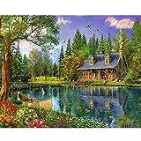 Pintura digital Naturaleza Paisaje digital Fotos Bricolaje Decoración del hogar Regalos 40x50cm