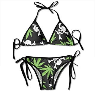 skull and crossbones bathing suit