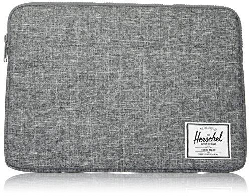 Herschel Anchor Sleeve for MacBook/iPad, Raven Crosshatch, 15-Inch