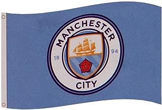 Manchester City FC Core Crest Flag
