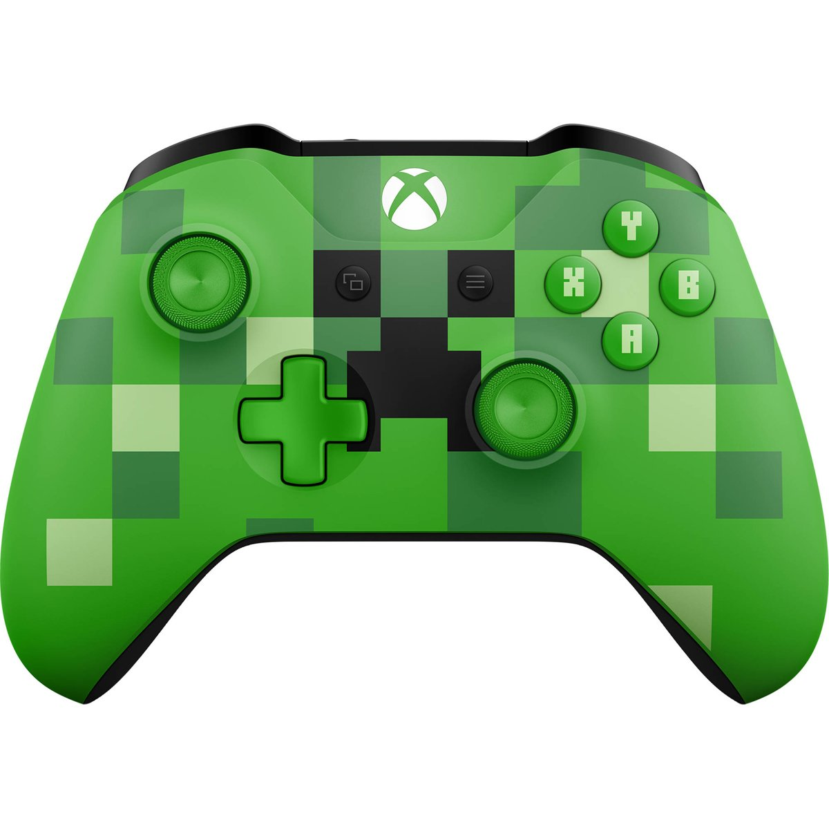 Microsoft Xbox Wireless Controller Minecraft Creeper - Volante ...
