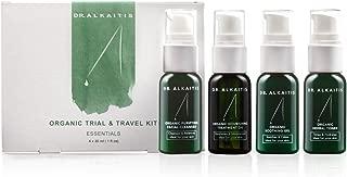 DR. ALKAITIS Organic Essentials Trial & Travel Kit, 4 oz.