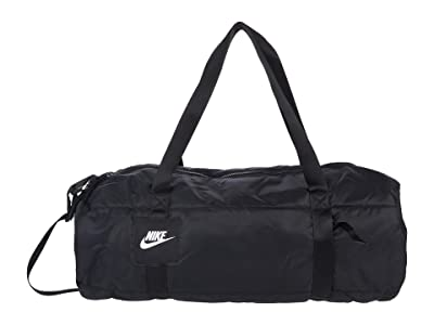 Nike Heritage Duffel Winterized (Black/Black/White) Bags