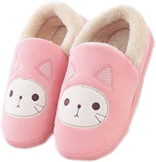 af9cbf38c5c Life Star Shoes Women Kawaii Pink Cartoon Warm Home Slippers