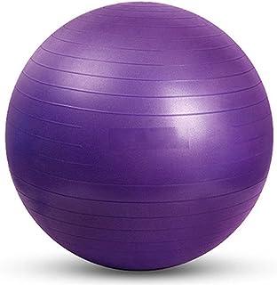 YUUWA バランスボール45cm/55cm/65cm/75cmヨガボール アンチバースト仕様ポンプ付き! ダイエット エクササイズ 全4カラー