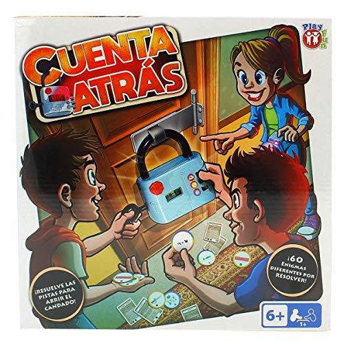 IMC Toys 98459 Cuenta Atrás - Juego escape room para niños ,...