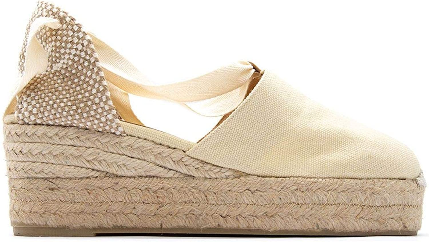 Castaner Women's CAMPESINA203IVORY White Other Materials Wedges