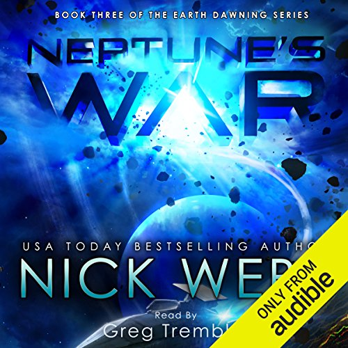 Neptune's War audiobook cover art