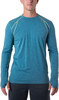 tasc Performance Men's at tech Fitness Ventilated Long Sleeve tee Shirt